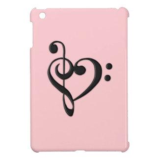 Music Design Heart iPad Mini Cases