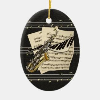 Music Design Personalized Ornament
