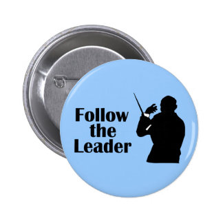 Music Director Follow The Leader 6 Cm Round Badge