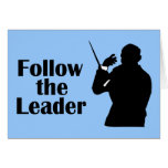 Music Director Follow The Leader Cards