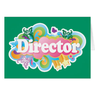 Music Director Retro Burst Card