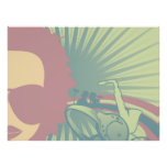 music diva funky pastels 2 poster