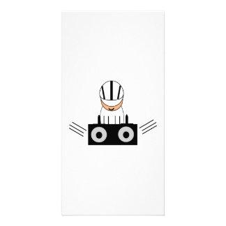 Music DJ Custom Photo Card