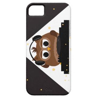 Music DJ Owl Design - iphone case iPhone 5 Cases