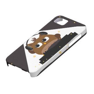 Music DJ Owl Design - iphone case iPhone 5 Covers