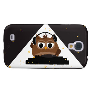 Music DJ Owl Design - Samsung Galaxy S4 Case
