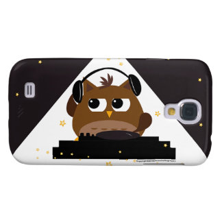 Music DJ Owl Design - Samsung Galaxy S4 Case
