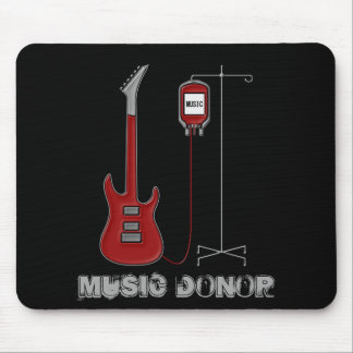 Music Donor Mouse Mat