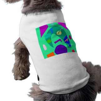 Music Dream Reality Poor Young Old World Sleeveless Dog Shirt