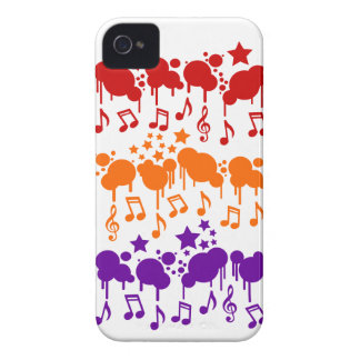 Music Drips Blackberry Bold case