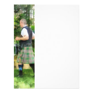 Music - Drummer in Pipe Band Personalized Flyer