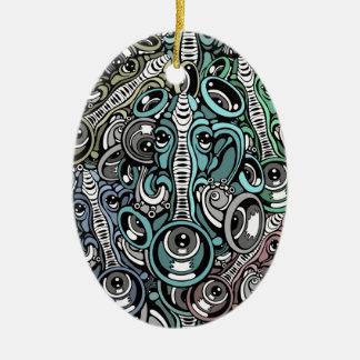 music elephant christmas ornament