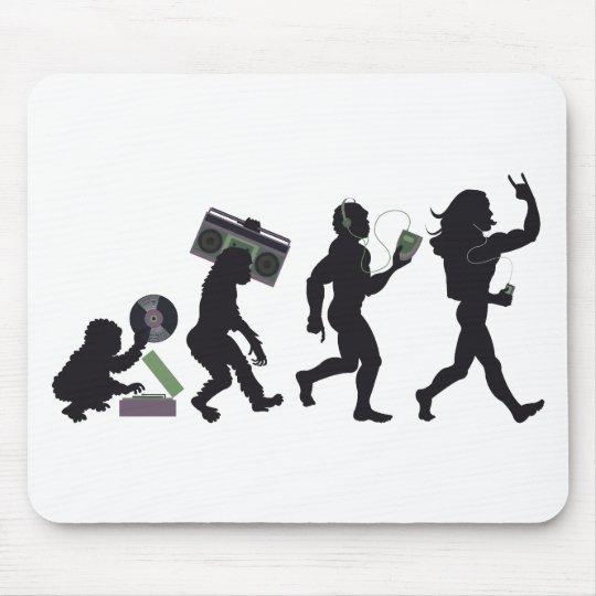 Music Evolution Mouse Mat