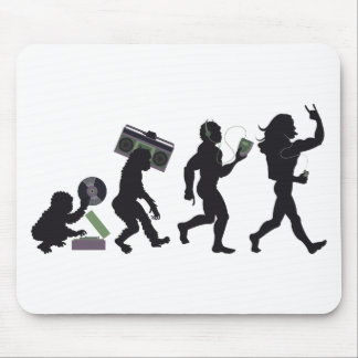Music Evolution Mouse Pad