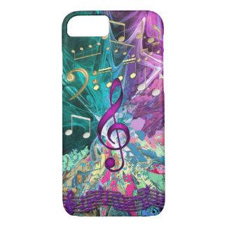 Music Explosion iPhone 7 Case