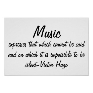 Music expresses... poster