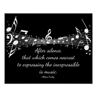 Music: Expressing the Inexpressible Poster
