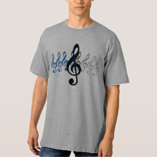 Music Expressions T-Shirt Treble Clef Gift