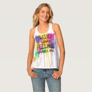 Music & Feelings Tank Top