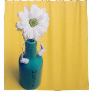 Music Flower - Shower Curtain