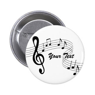 Music Flows Button (any color)
