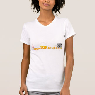 Music For Clubbers Ladies T-Shirt