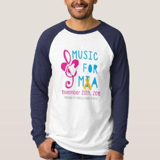 Music for Mia Men's Raglan Long Sleeve T-Shirt