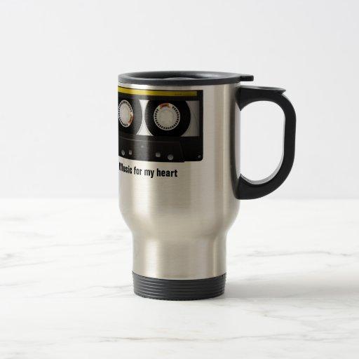 Music for my heart coffee mug