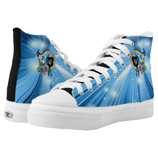Music for the Soul High Tops