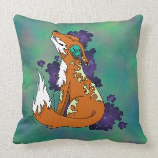 Music Fox Pillow