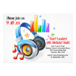 Music From My Headphones Party Invitation