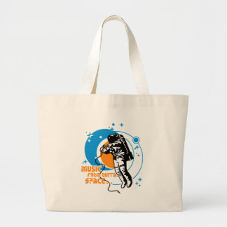 Music from outta Space Jumbo Tote Bag