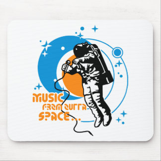 Music from outta Space Mouse Pad