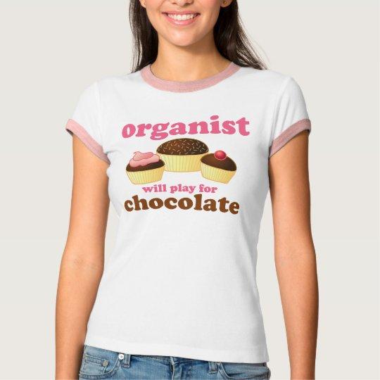 Music Fun Organist T-shirt