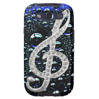 Music Gclef Symbol Samsung Galaxy SIII Cover