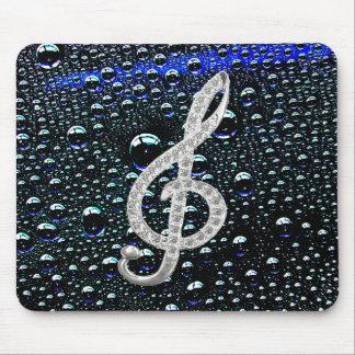 Music Gclef Symbol Mouse Pad
