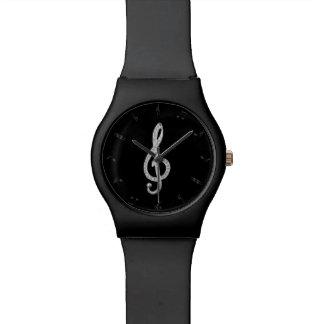 Music Gclef Watch