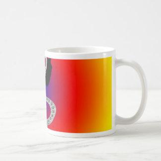 Music Gclef with headset Coffee Mug