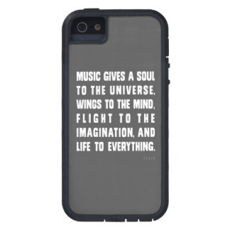 Music Gives A Soul To The Universe Case For The iPhone 5