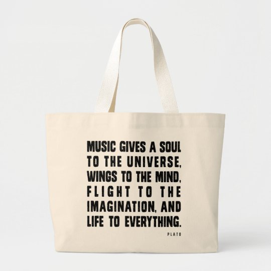 Music Gives A Soul To The Universe Large
