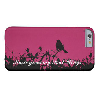 Music Gives my Soul Wings iPhone Case
