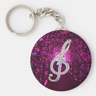 Music Glef Keychains