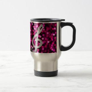 Music Glef with light background Mug