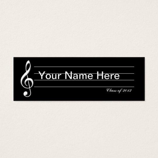 Music Graduate Card