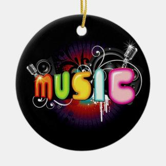 Music Graffiti Ornament Ornaments