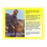 Music,  Greek drum Postcards