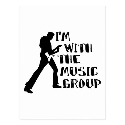 Music Group Postcard