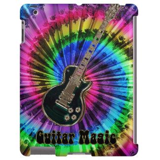 Music Guitar Magic Rainbow Tie-Dye Electric Guitar