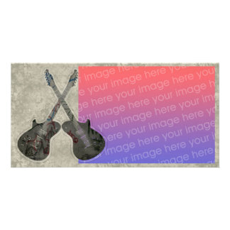 Music Guitar Photocard Photo Card