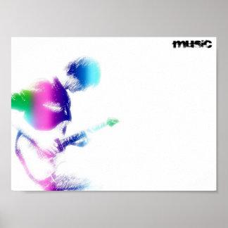 Music Guitar Poster